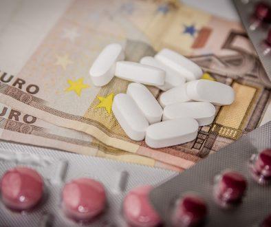 Santé - médicament - argent